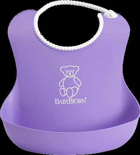 Babybjã–rn – Babybjörn soft bib - lilla, 7 stk. på lager på pixizoo