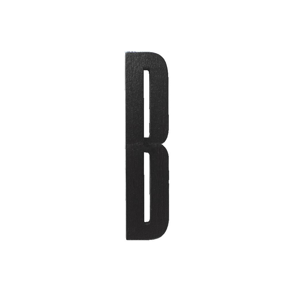 Designletters Design letters black wooden letters - b, 5 stk. på lager fra pixizoo