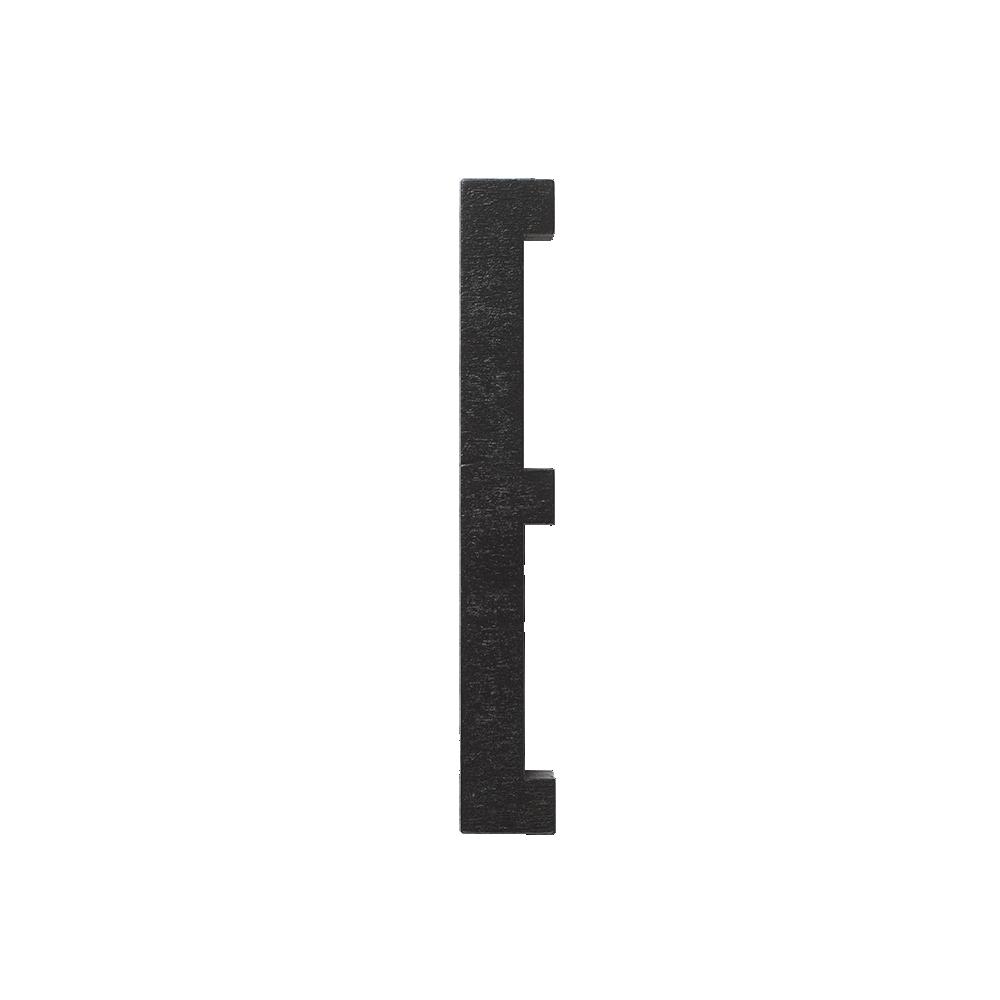 Designletters – Design letters black wooden letters - e, 5 stk. på lager på pixizoo