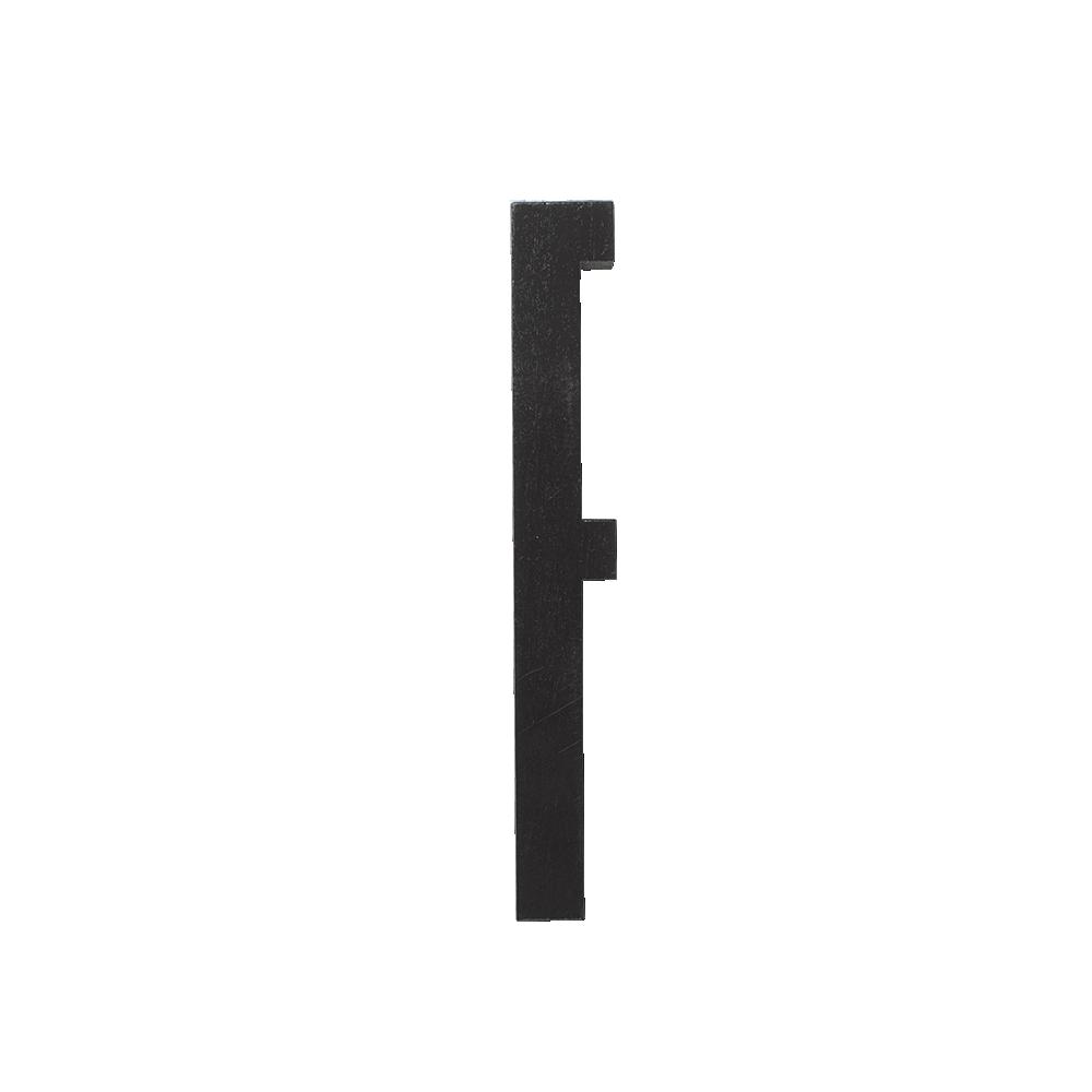 Design Letters Trä Bokstav F - Svart