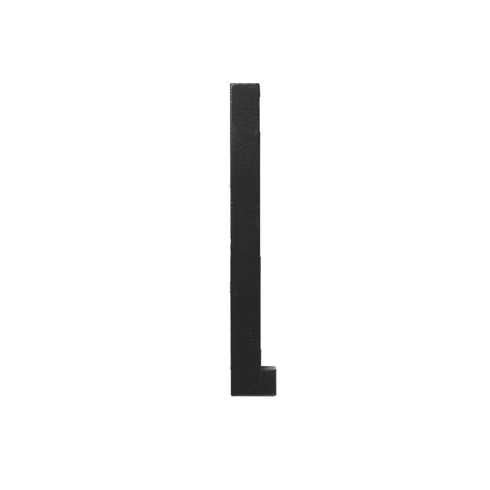 Design letters black wooden letters - l, 5 stk. på lager fra Designletters på pixizoo