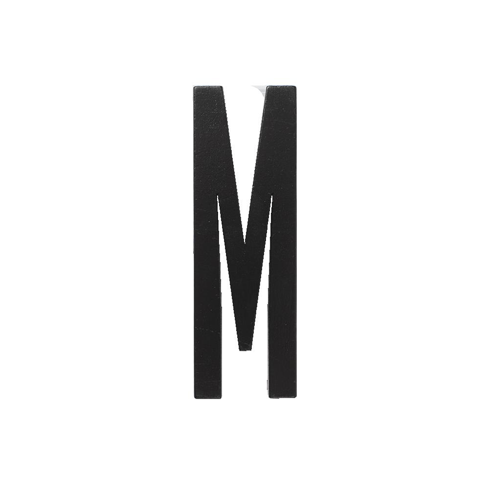 Designletters – Design letters black wooden letters - m, 6 stk. på lager på pixizoo