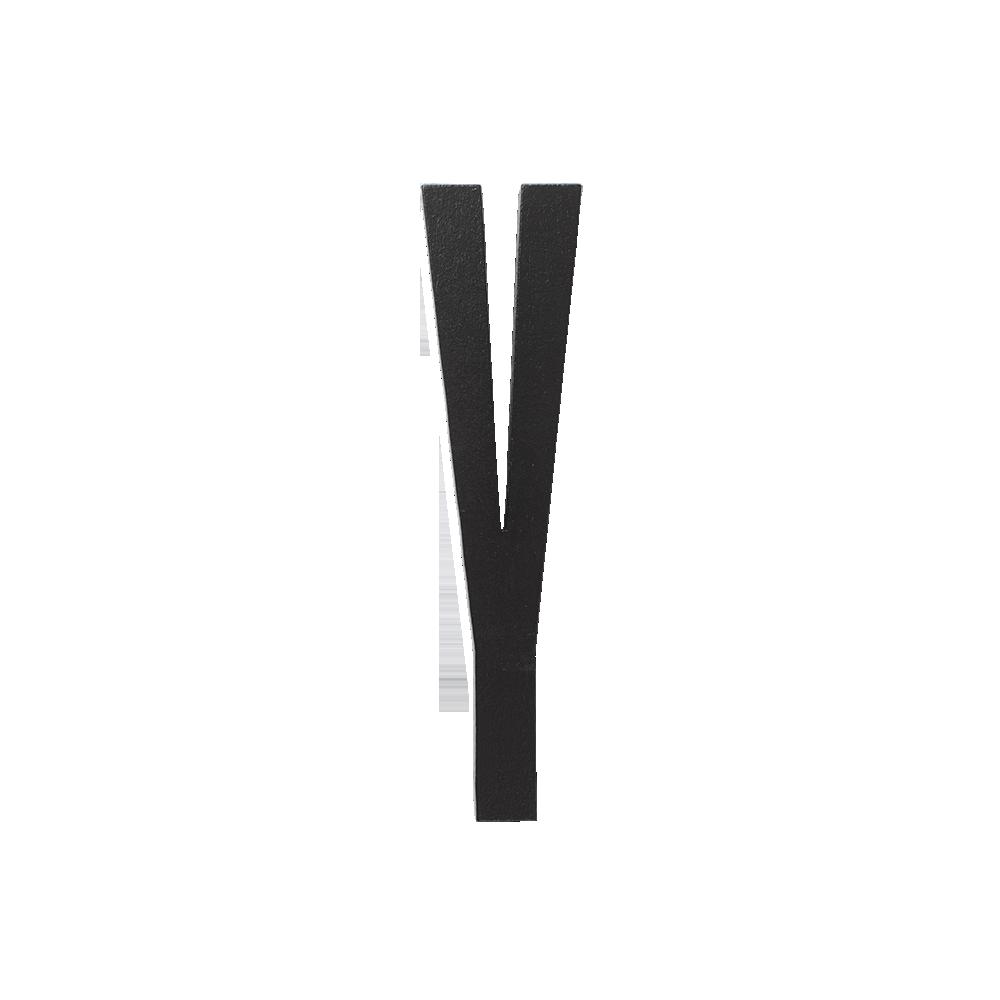 Design Letters Trä Bokstav Y - Svart