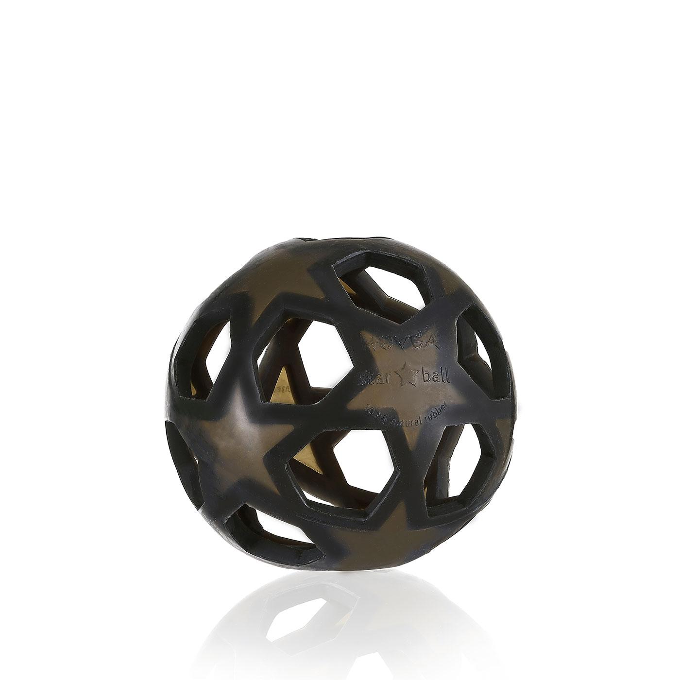 Hevea Star Ball Babyleksak - Charcoal