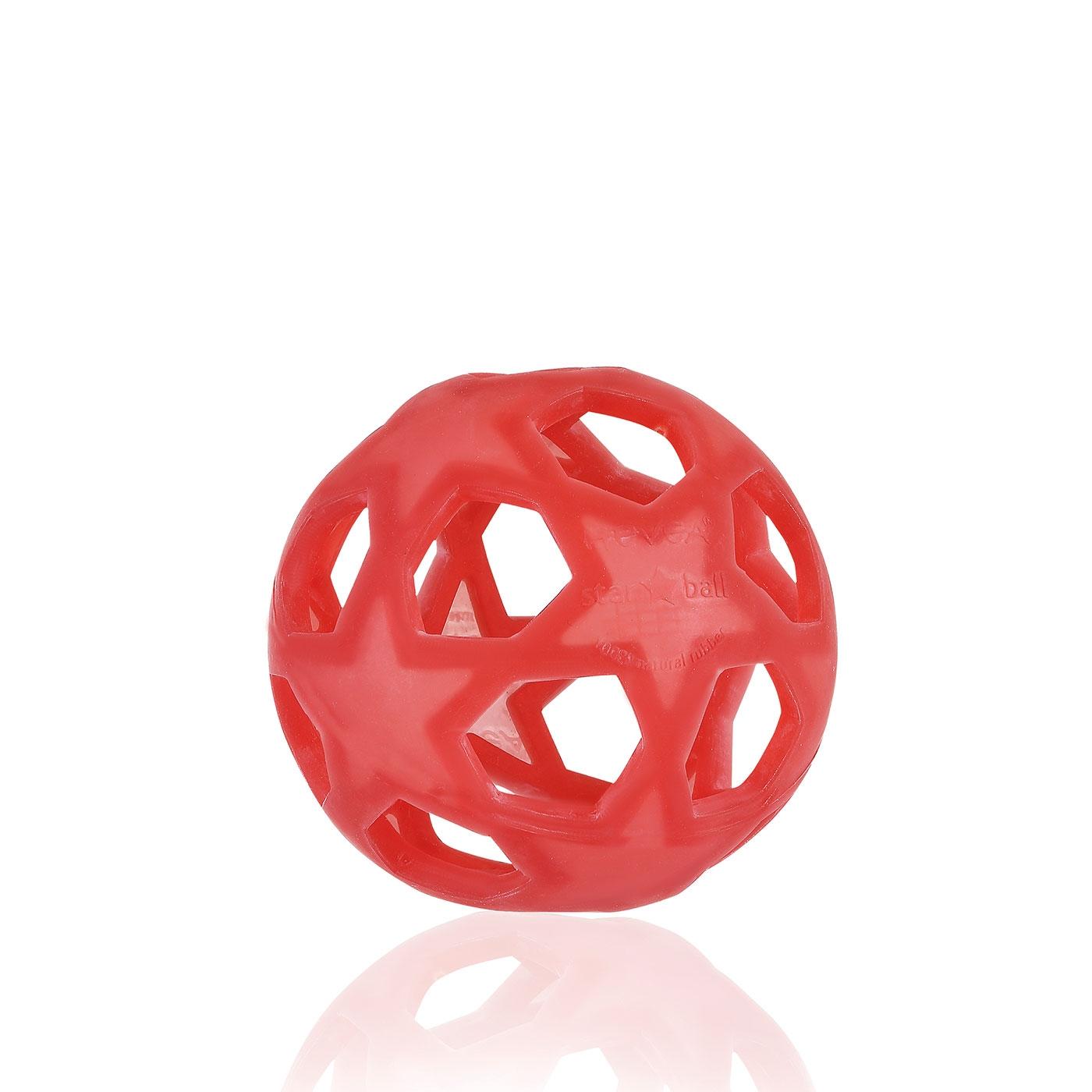 Hevea Star Ball Babyleksak - Raspberry