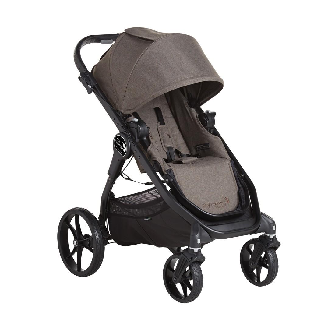 Baby jogger – Baby jogger city premier - taupe, 9 stk. på lager fra pixizoo