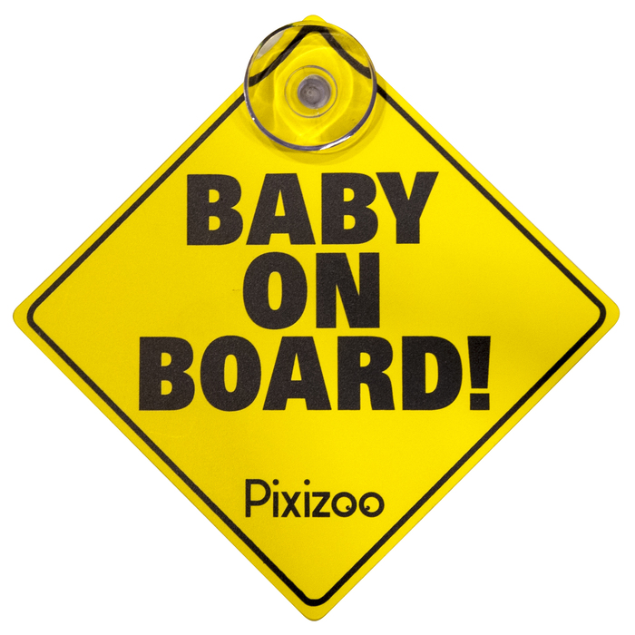 Concord Pixizoo baby on board pixizoo m sugekop, +10 stk. på lager på pixizoo