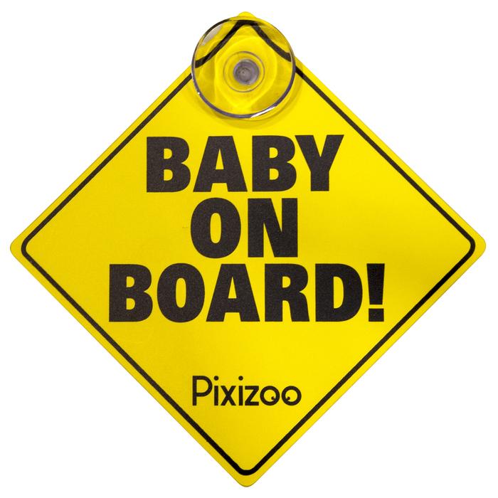Concord Pixizoo baby on board pixizoo m sugekop, +10 stk. på lager på pixizoo