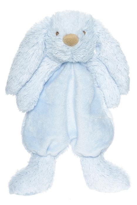 Teddykompaniet Lolli Bunnies Kanin Snuttefilt - Blå