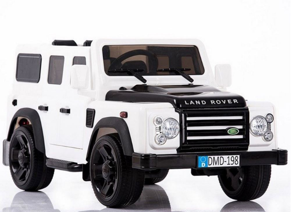 Ride Ons Land Rover Defender - Vit