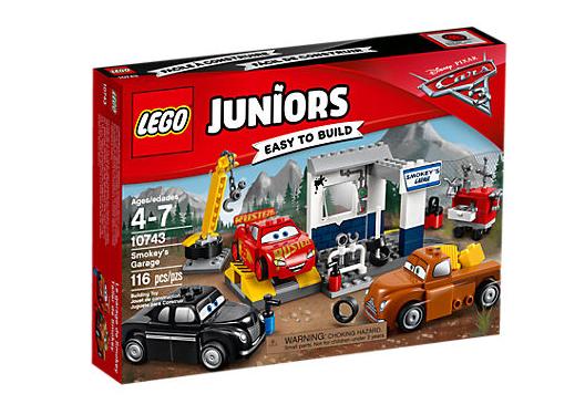 LEGO Juniors (10743) Cars 3 Smokeys Verkstad