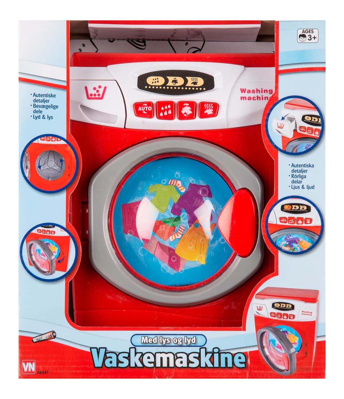 3-2-6 vaskemaskine med lys og lyd, 10 stk. på lager fra 3-2-6 fra pixizoo