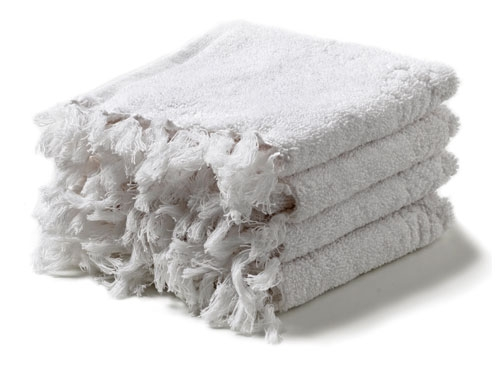 HUMDAKIN Små Handdukar 4 st - Vit