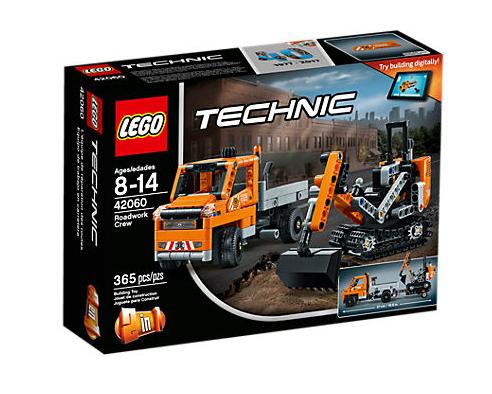 LEGO Technic (42060) Vägarbetare