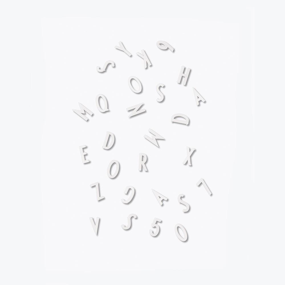 Designletters – Designletters letter box small - hvid, 9 stk. på lager på pixizoo