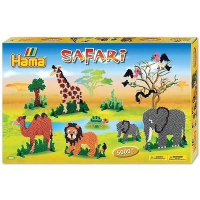 Hama gavesæt m. safari tema - 5000 perler, 1 stk. på lager fra Hama på pixizoo