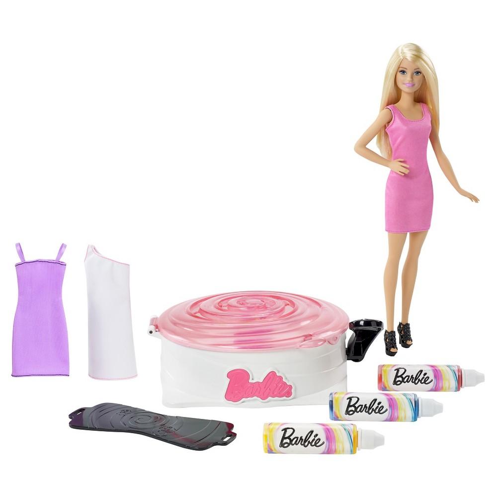 Barbie Barbie spin art m. dukke, 6 stk. på lager på pixizoo