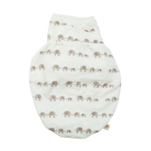 Ergobaby swaddler single - elephant, 2 stk. på lager fra Ergobaby fra pixizoo
