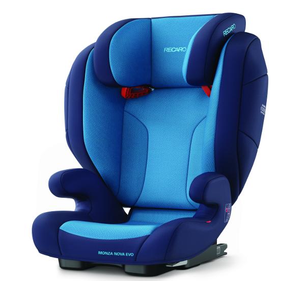 Recaro Monza Nova Evo Seatfix Bilbarnstol - Xenon Blue