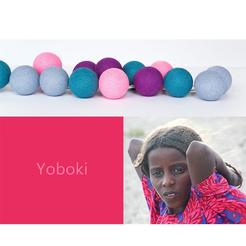 Happy lights yoboki - 35 kugler, 4 stk. på lager fra Happy lights på pixizoo