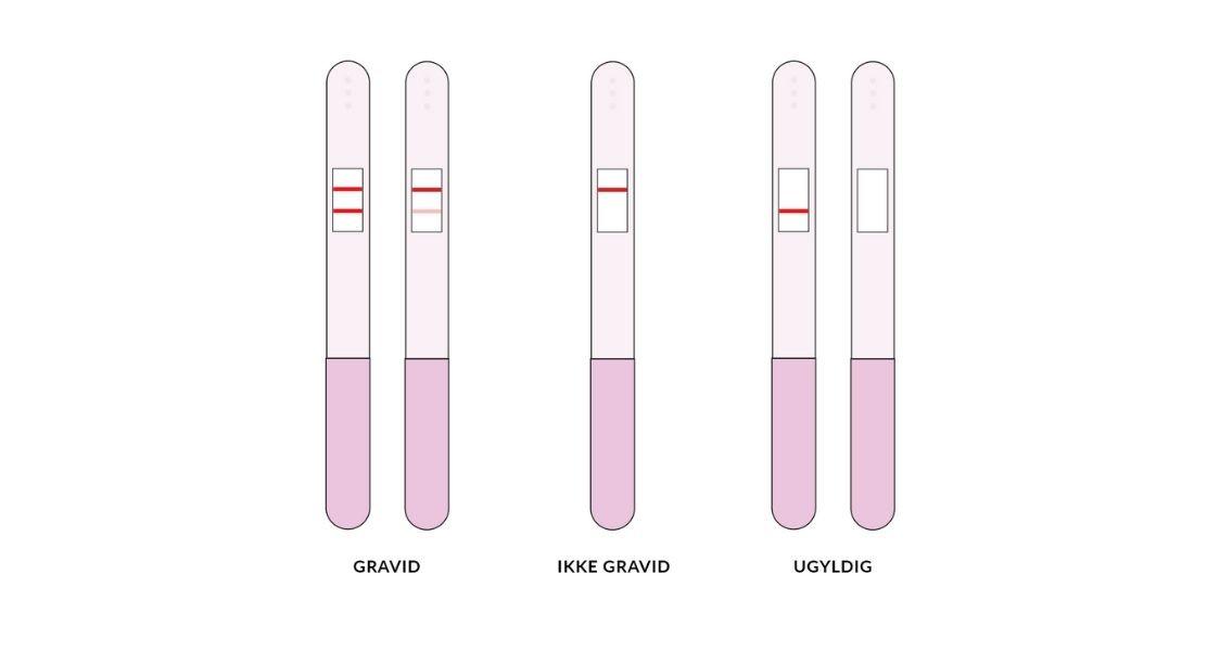 Graviditetstest så positiv hvad Hvor hurtigt