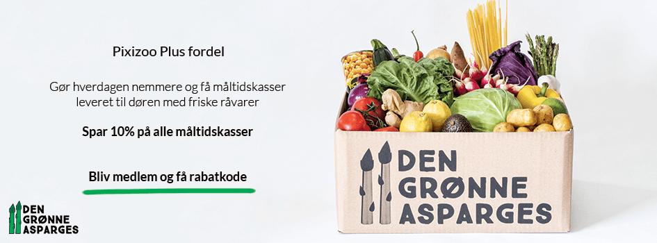 Den grønne asparges måltidskasser